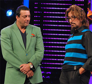 Sanjay Dutt and Shakti Kapoor