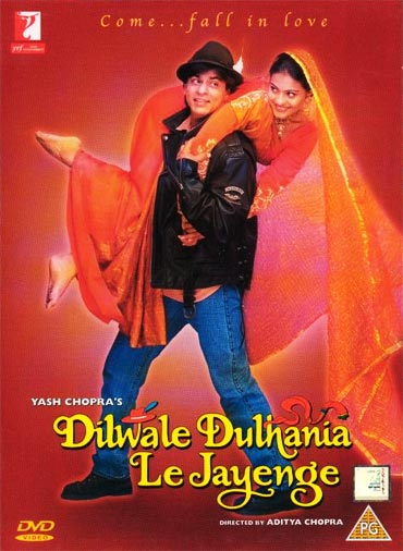 A Dilwale Dulhania Le Jayenge movie poster