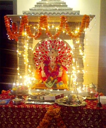 Sonu Sood's Ganpati
