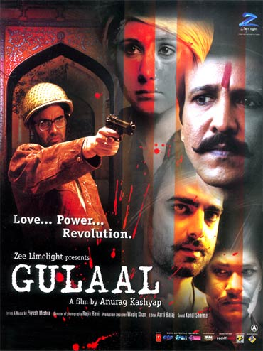 A Gulaal movie poster