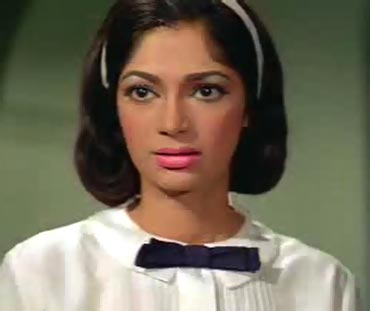 Simi Garewal in Mera Naam Joker