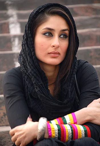 You can cover your hair in a scarf like Kareena Kapoor before stepping out to play