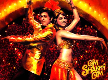 A Om Shanti Om movie poster