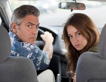 A still from The Descendants