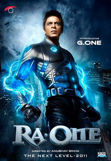 Shah Rukh Khan has sunk a lot of his money in Ra.One, the most expensive Indian film ever