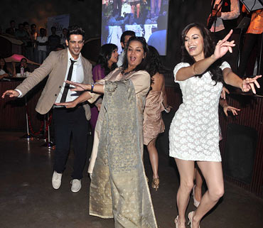 Zayed Khan, Shabana Azmi and Dia Mirza