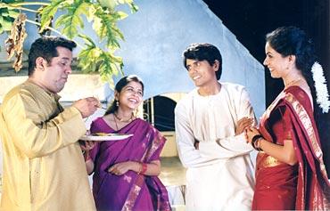 A still from Hyderabad Blues