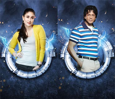 Kareena Kapoor and Shah Rukh Khan