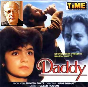 A still from Daddy. Inset: Mahesh Bhatt