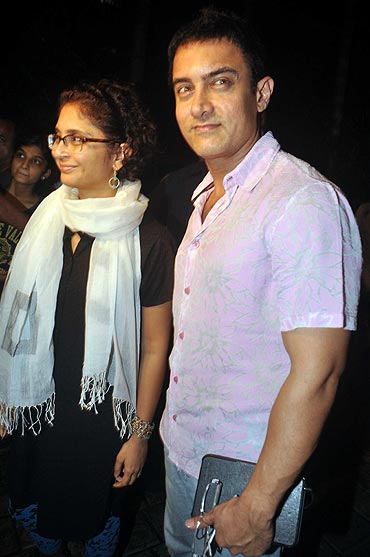 Kiran Rao and Aamir Khan