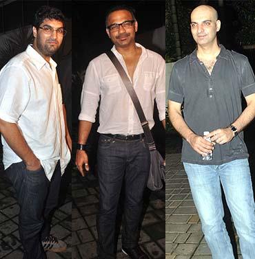 Kunal Roy Kapoor, Abhinay Deo and Abbas Tyrewala