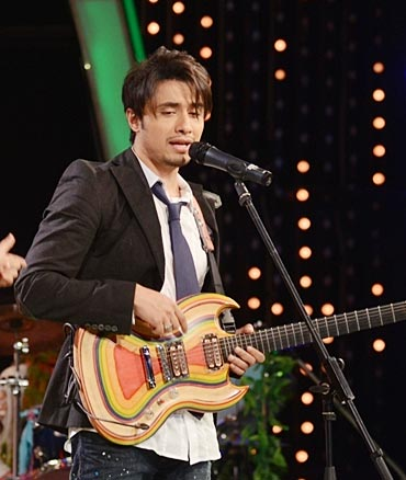 Ali Zafar in India's Got Talent