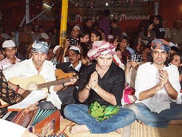 Ranbir Kapoor, Mohit Chauhan and Imtiaz Ali