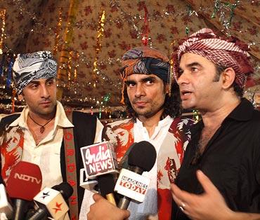 Rabir Kapoor, Mohit Chauhan and Imtiaz Ali