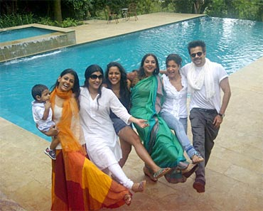 Nandita Das, Konkana Sen Sharma, Shahana Goswami, Shabana Azmi, Sandhya Mridul and Anil Kapoor