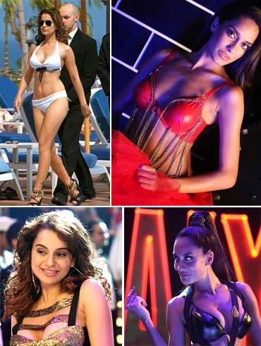 Vote! Who's hotter: Kangna Ranaut or Lisa Haydon in <i>Rascals</i>?