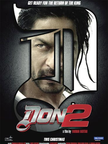 A Don 2 movie poster