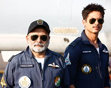 Pankaj Kapur and Shahid Kapoor