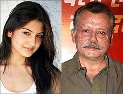 Anushka Sharma and Pankaj Kapur