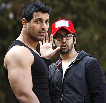 John Abraham and Rohit Dhawan