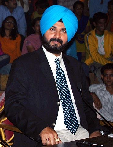 Navjot Singh Sidhu