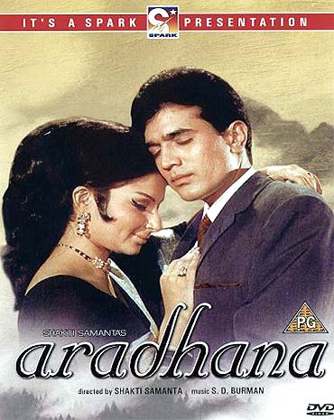 Aradhana movie poster