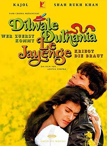 A Dilwale Dulhaniya Le Jaayenge movie poster