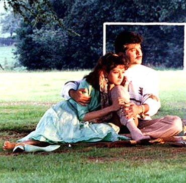 A still from Lamhe