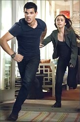 A still from Abduction