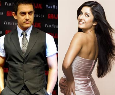 Aamir Khan and Katrina Kaif