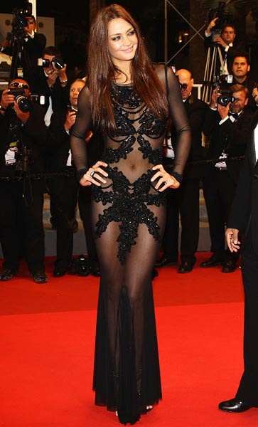 Candice Boucher attends the Hearat Shulayim premiere at Cannes Film Festival