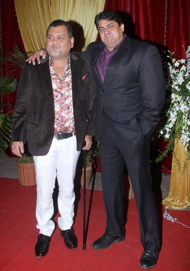 Kunal Vijaykar and Cyrus Broacha