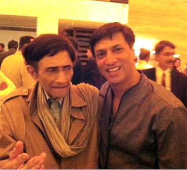 Dev Anand and Madhur Bhandarkar