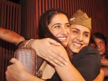 Nargis and Neetu Kapoor