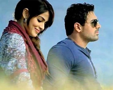 Genelia and John Abraham in Force