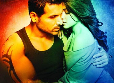 John Abraham and Genelia in Force