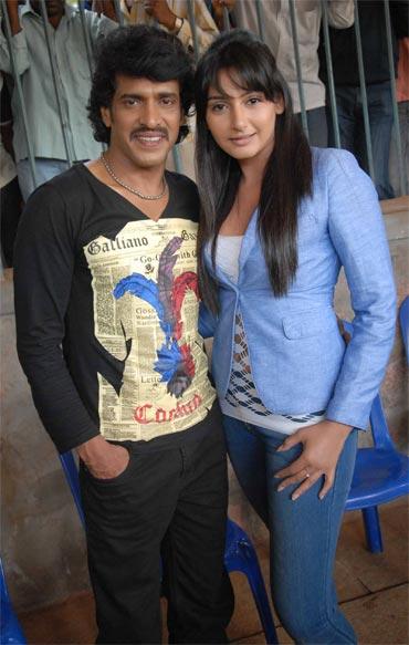 Upendra and Ragini