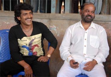 Upendra with P Vasu