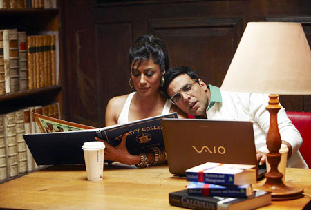 A scene from Desi Boyz