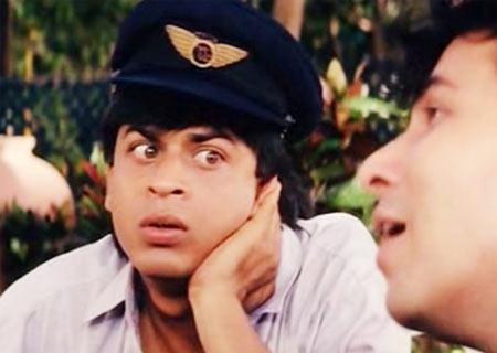 A scene from Kabhi Haan Kabhi Naa