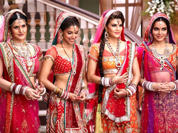 Zarine Khan, Asin, Jacqueline Fernandes and Shazahn Padamsee