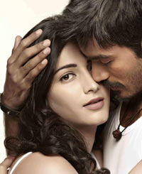 Shruti Haasan and Dhanush