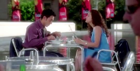Aamir Khan and Preity Zinta in Dil Chahta Hai