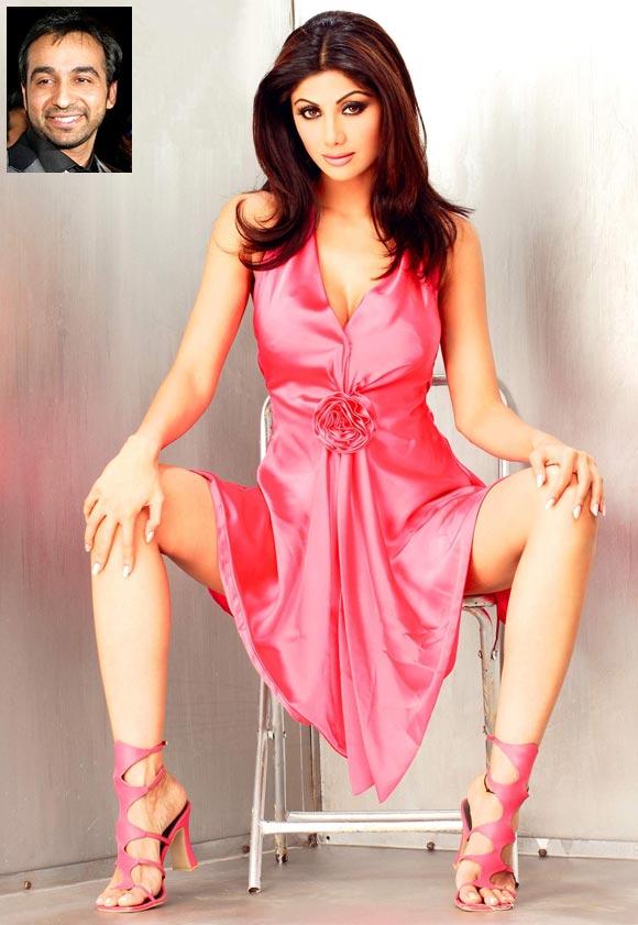 Shilpa Shetty. Inset: Raj Kundar