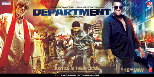 Movie poster of Department