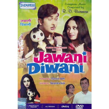 Movie poster of Jawani Diwani
