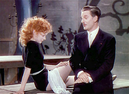 Moira Shearer and Marius Goring in The Red Shoes
