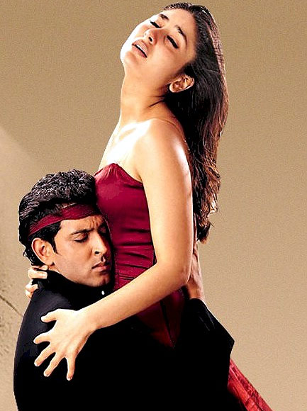 Hrithik Roshan and Kareena Kapoor in Yaadein