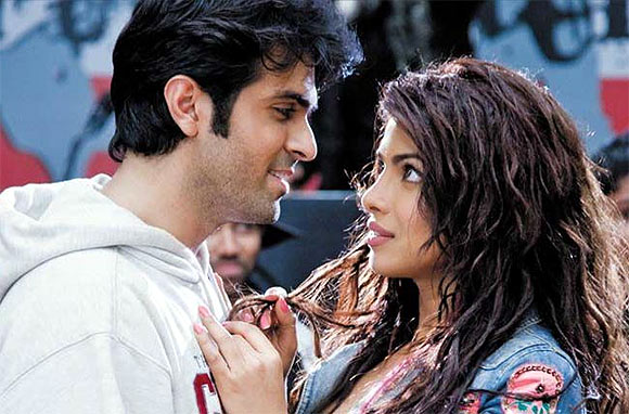 Priyanka Chopra and Harman Baweja in What's Your Raashee