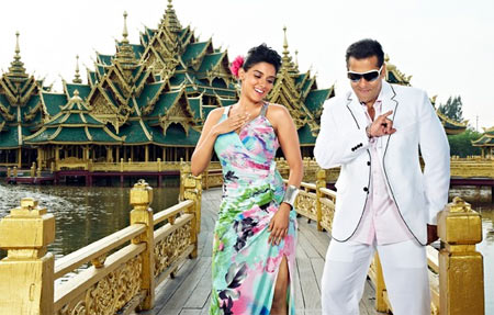Asin and Salman Khan in Ready
